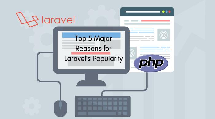 Top 5 Major Reasons For Immense Popularity of Laravel Framework