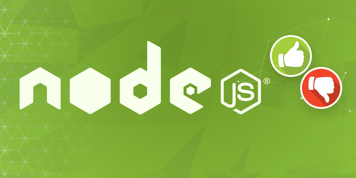 You should understand the advantages of using Node.js for web application development