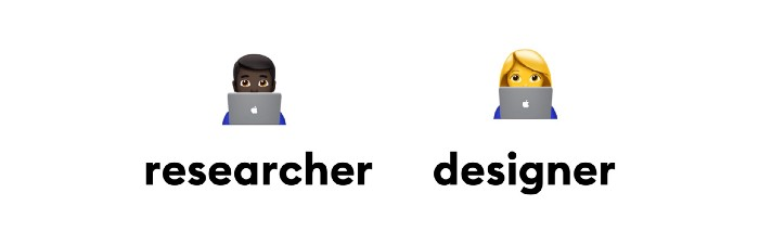 designer and research